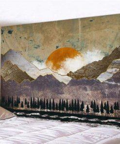 Sonne Wandteppich