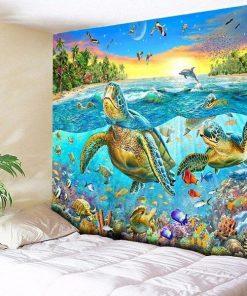 Schildkröte Wandbehang