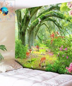 Frühling Wandbehang